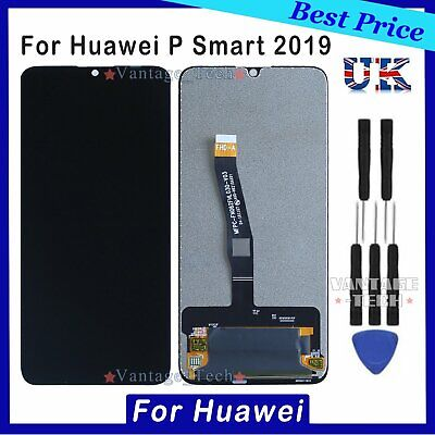 For Huawei P Smart 2019 POT-LX1 LCD Screen Display Touch Digitizer Replacement