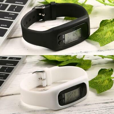 Silicone Band LCD Digital Pedometer Step Walking Running Calorie Counter WT88 06