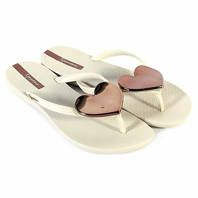 cccbe337100eb4 IPANEMA MAXI HEART Womens Beach Flip Flops Beach Pool Sandals ...