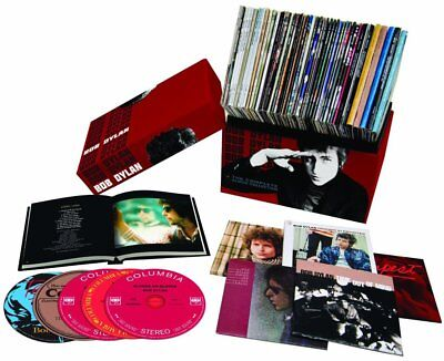"""Bob Dylan """"The Complete Album Collection"""" 47 CDs Colossal Box Set"""
