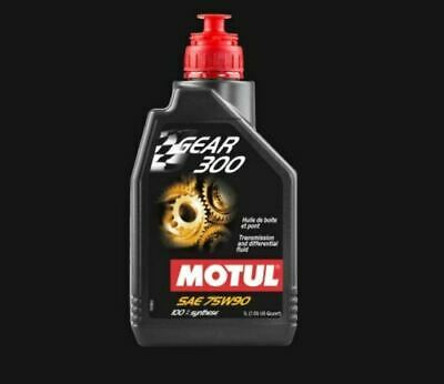 Motul Gear 300 75W-90 Racing gearbox and diff oil 100% ester Synthetic 1L