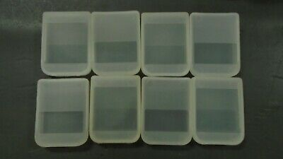 8 X  Memory Card Case for Original PS1 PSX Sony PLAYSTATION 1 MB Meg
