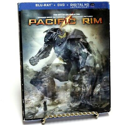 Pacific Rim Blu-ray DVD Video Movie with Lenticular Slipcover