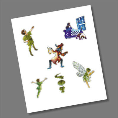 Peter Pan 50p 2019 Coin Decals - Full Collection