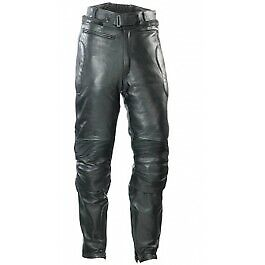 Spada Leather Road Trousers - Men - Black - Size 38