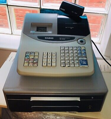 CASIO TE100 Cash Register Till EPOS