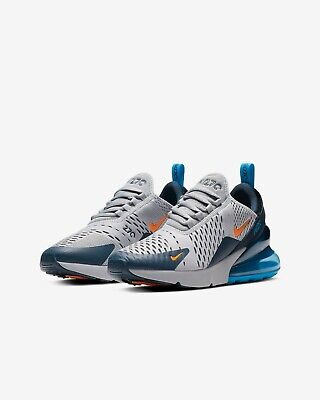 Details about NIKE AIR MAX 270 GS UK 6US 6.5EU 39 WHITEGREYGREEN (943345 010)