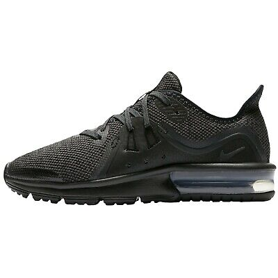aa769df770 Kids Nike Air Max Sequent 3 GS Trainers Shoes Black 922884 006 UK 5 EU 38