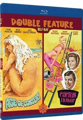 AGE OF CONSENT + CACTUS FLOWER Blu-ray Double Feature Helen Mirren Goldie Hawn