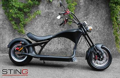 Bumblebee 'STING' Chopper 2000w Electric Scooter / Moped 28MPH 35 Miles Distance