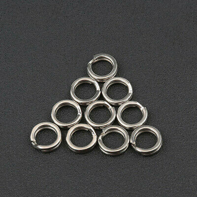 High Quality Fishing Split Rings Swivel Snap Stainless Steel Fish Connector