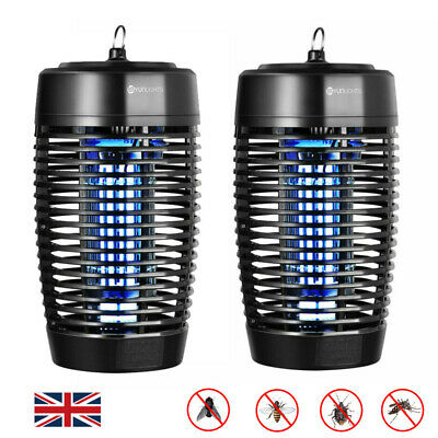 Waterproof 18W Electric UV Fly Insect Mosquito Killer Bug Zapper Catcher Lamp UK