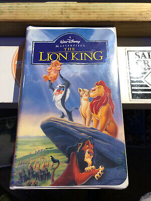 Walt Disney -The Lion King - 1995 VHS Masterpiece Collection #2977