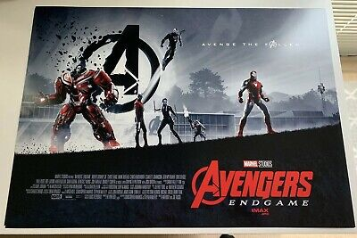 Avengers Endgame IMAX Poster 11x15.5 BRAND NEW RARE COLLECTIBLE AMC