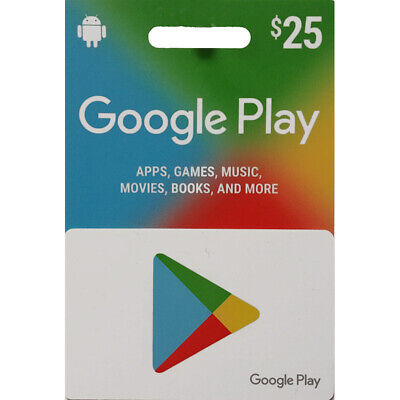 GOOGLE PLAY GIFT Code - $25 - Fast email delivery 1 day