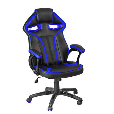 Panana Racing Gaming Office Chair Executive High Back Swivel Chairs Padded Arms
