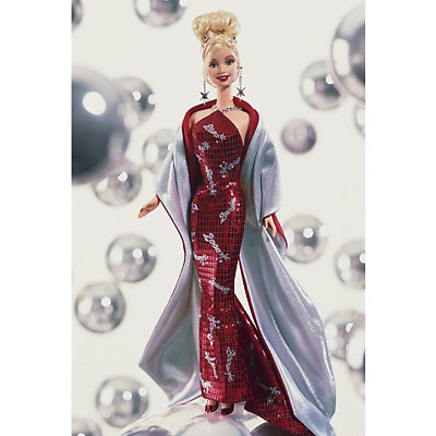 Barbie Mattel Doll as Barbie® doll celebrates the year 2000 Red Dress NR Seal