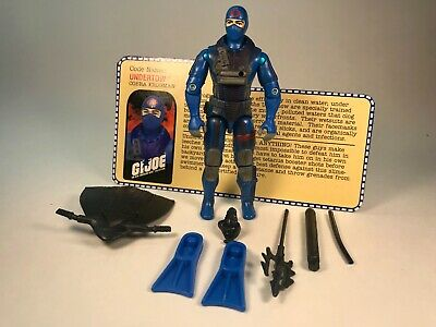 G.I. Joe Cobra Iron Grenadiers Undertow v2 2000 Mint Complete with FIlecard