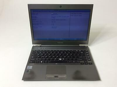 TOSHIBA PORTEGE Z930-S9301 Intel Core i5-3437U 1.9GHz 128GB SSD 4GB Boot To BIOS