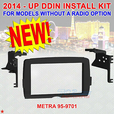 2014 - 2019 Harley Double Din Radio Install Adapter Dash Kit Control Bezel