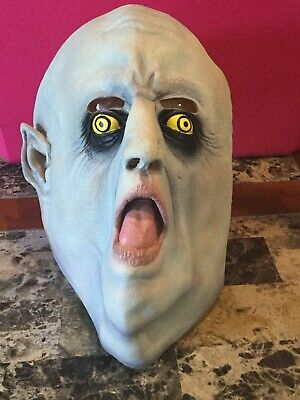 2000 Paper Magic Group Halloween Adult Size Mask Monster Fat Dracula Vampire
