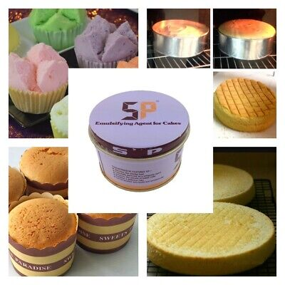 SP Emulsifier for Homemade Sponge Cakes Foaming Food Additive Ingredient 100 g