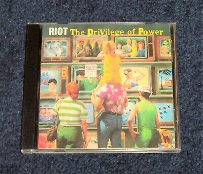 Riot - The Privilege of Power CD speed/thrash metal church omen ZK 45132 RARE