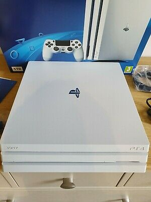 Sony PlayStation 4 Pro 1TB 4K Game Console - White