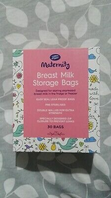 Boots Maternity Breast Milk Storage Bags X11