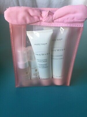 Vintage/Retired Mary Kay Time Wise Miracle Travel Gift 4 Piece Set-New Old Stock