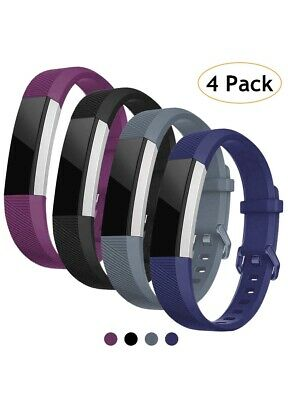 Vitty for Fitbit Alta HR Wrist Straps, Adjustable Replacement Silicone Soft