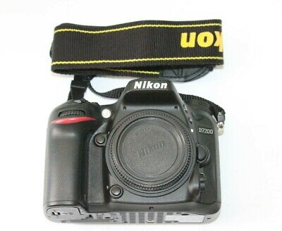 Nikon D7200 24.2 MP Digital SLR Camera Black   body only  750 shutter count