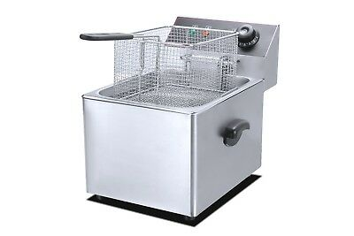 New Commercial Electric Deep Fryer 11L