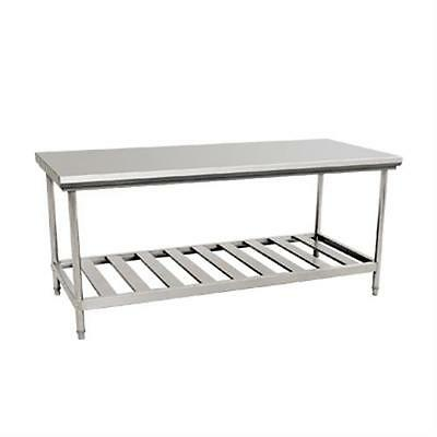 Brand new commercial 1.8m bench stainless steel pot rack under