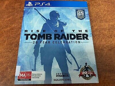 Rise of The Tomb Raider 20 Year Celebration Sony PlayStation 4 PS4 Game