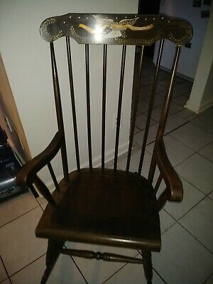 Vintage Rocking Chair Our Liberty and Independence.