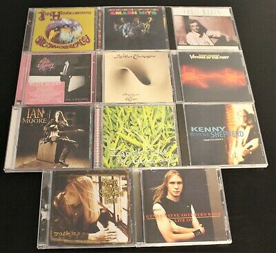 Jimi Hendrix, Robin Trower, Ian Moore Kenny Wayne Shepherd + 11 CD Lot  Like New