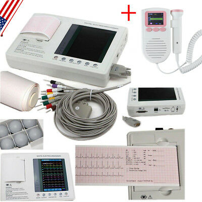 US DIGITAL 12-CHANNEL 12-lead Electrocardiograph ECG/EKG