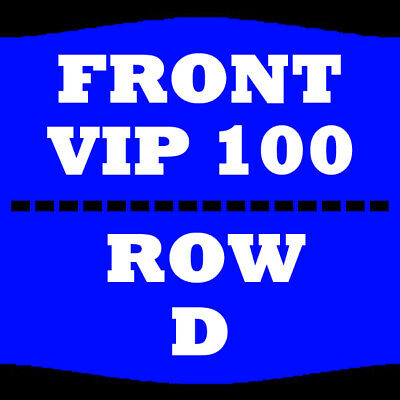 2 Tix Rob Zombie & Marilyn Manson 7/13 Sec 100 Row D Riverbend Music Center