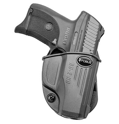 #4230 LC40 EC9//s LC380 with LASER Leather PADDLE Holster RUGER LC9//s
