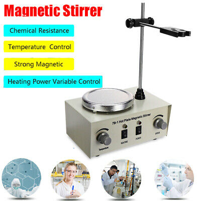 Hot Plate Magnetic Stirrer Heating Plate Electric Mixer 1000ML Lab 110V/60Hz USA