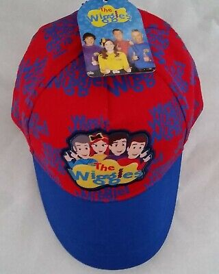 THE WIGGLES Licensed Boy hat cap red cotton NEW head size up to 52cm
