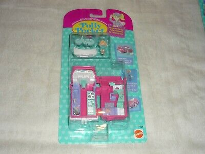 Vintage 1995 Bluebird Polly Pocket Home On The Go Rv Playset New & Sealed Moc