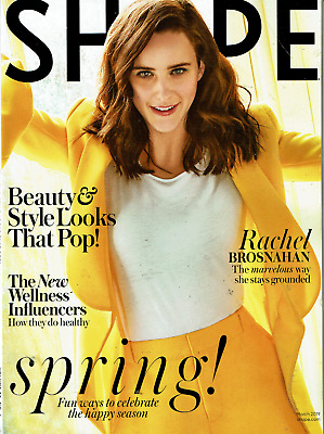Shape Magazine March 2019 Rachael Brosnahan Marvelous Mrs. Maisel Stays Grounded