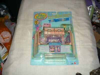 Vntg 1999 Mattel Polly Pocket Dream Builders Master Bedroom Playset New Moc