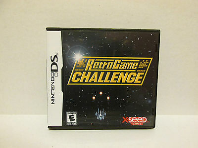 Retro Game Challenge Nintendo DS Replacement Case & Artwork - NO GAME INCLUDED!
