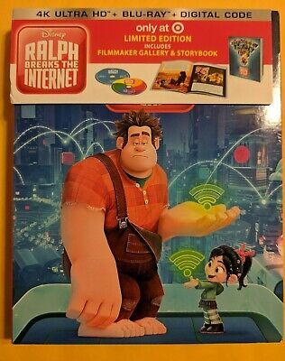 Ralph Breaks 4K  [4K ULTRA HD+BLURAY DISCS ONLY!!] [NO DIGITAL] Target Exclusive