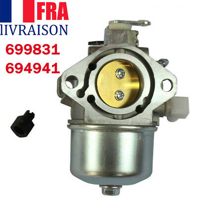 Carburateur pour Briggs Stratton 699831 694941 Lawn Mower Tractor