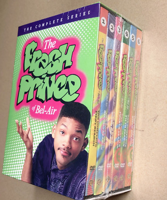 The Fresh Prince of Bel-Air Complete Series Seasons 1 2 3 4 5 6 (22-DVD Box Set)