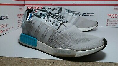 ADIDAS NMD R1 Bright Cyan Size 7 Men's Or 8.5 Women's